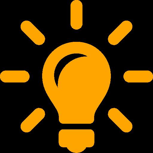 Salleroli Icon Lightbulb Media Literacy