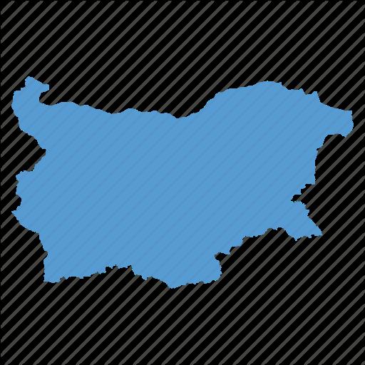 Bulgaria, Bulgarian, Country, Location, Map, Navigation Icon