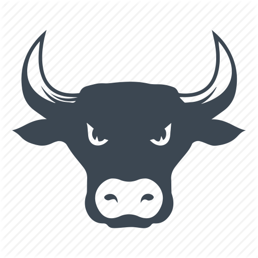Bull, Market, Stock Icon