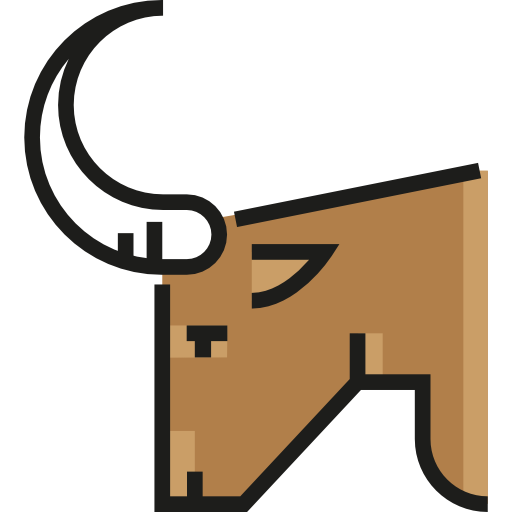 Mammal, Animals, Animal Kingdom, Zoo, Wildlife, Bull Icon