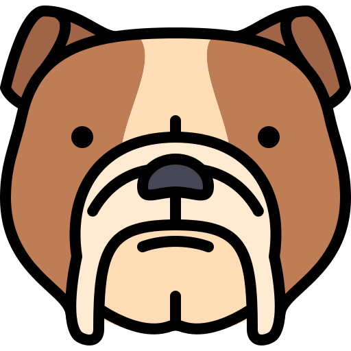 Bulldog Dog Png Icon