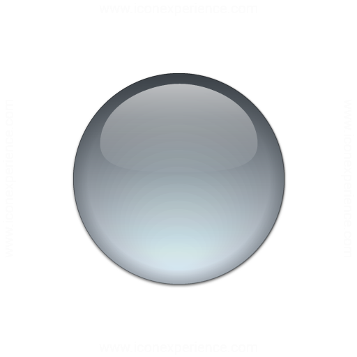 Iconexperience V Collection Bullet Ball Glass Grey Icon
