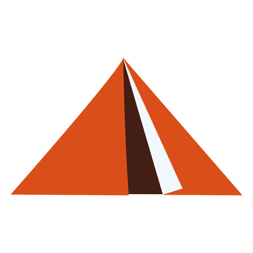 Flat Tent Icon