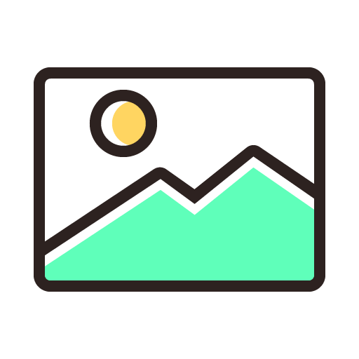 Image Icon Free Of Colored Line Icons