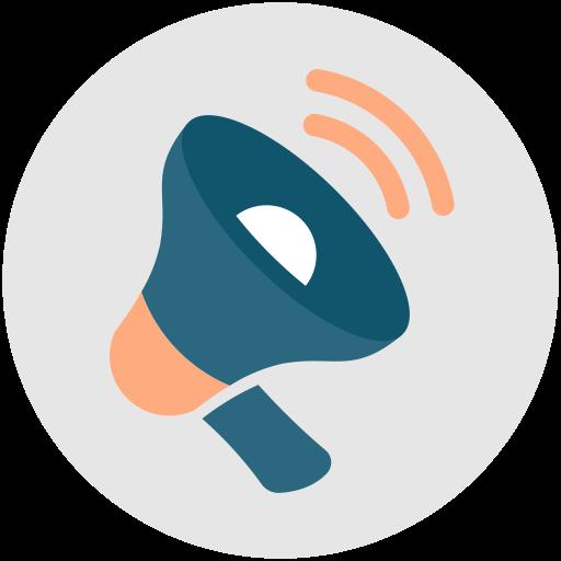 Announcement, Megaphone, Marketing, Sales, Bullhorn Icon