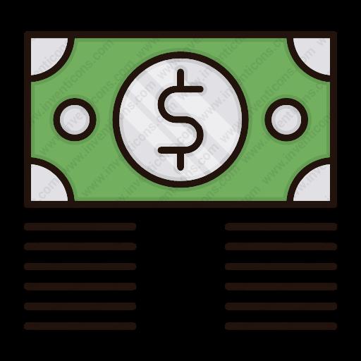 Download Money,bundle Icon Inventicons