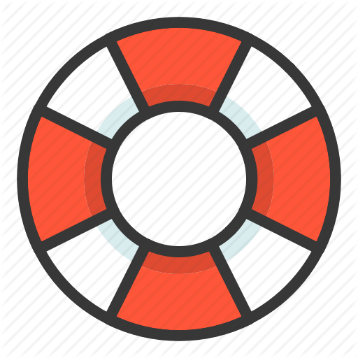 Life Buoy, Life Ring, Sea, Swim, Swim Ring Icon