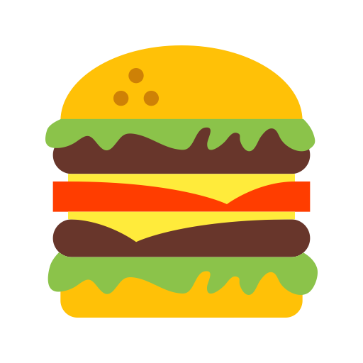 Burger, Hamburger, Fruits Icon With Png And Vector Format For Free