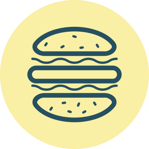 Burger Icon Free Of Of July Icons