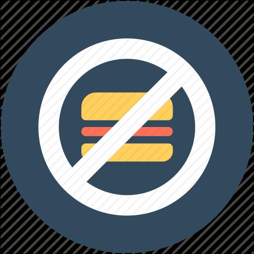 Burger Restriction, No Burger, No Fast Food, No Junk Food