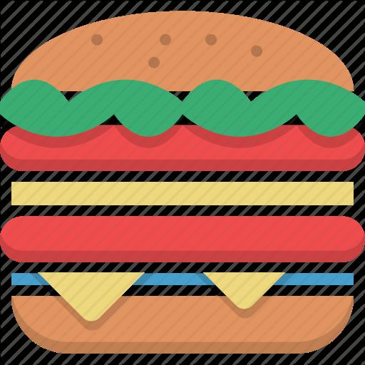 Huge Burger Icon Free Icons