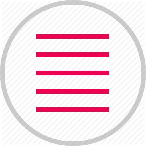 Hamburger, Lines, Menu, Options, Setup Icon Icons Outline