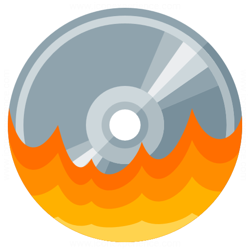 Iconexperience G Collection Cd Burn Icon