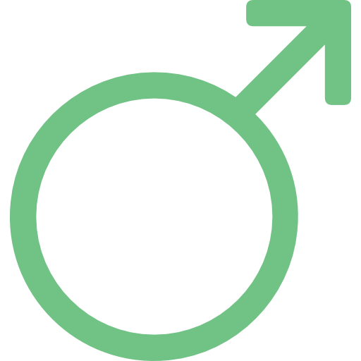 Gender, Signs, Male, Men, Male Gender, Gender Symbol, Man Icon