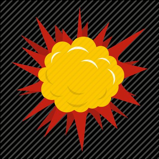 Blast, Bomb, Boom, Burst, Effect, Explode, Terrible Explosion Icon