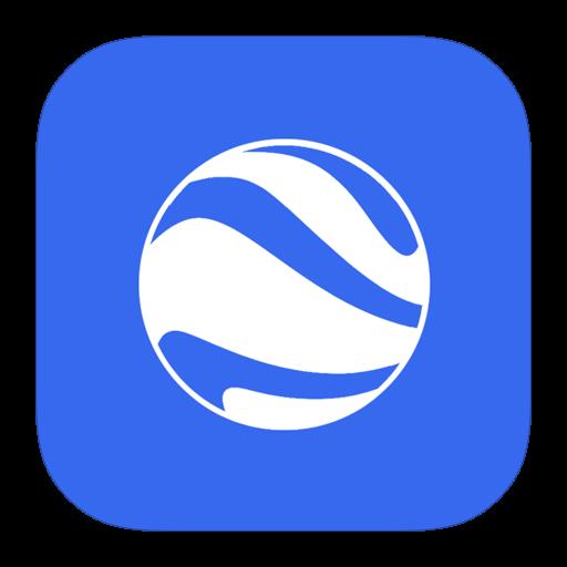 Google Earth Burst Icon Free Of Style Metro Ui Icons