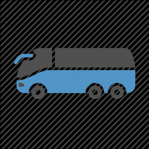 Coach Bus, Tourist Bus, Travel, Urban Transport, Vehicle Icon