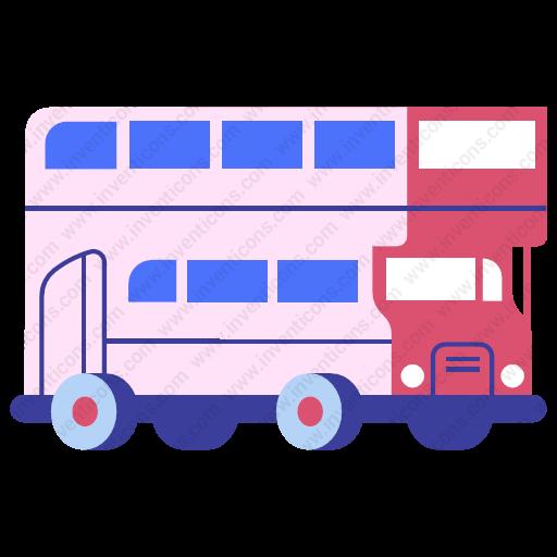 Download Bus Icon Inventicons
