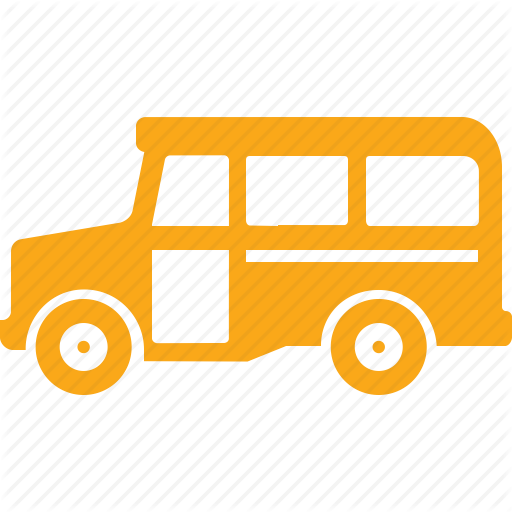 Education, School Bus, Transport, Vehicle Icon