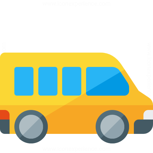 Iconexperience G Collection Minibus Icon