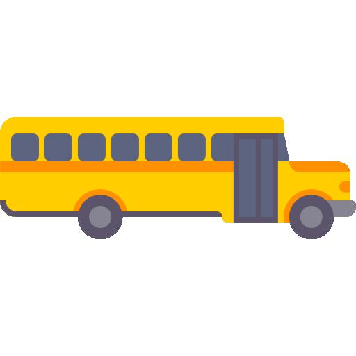 School Bus Icon Education Elements Freepik