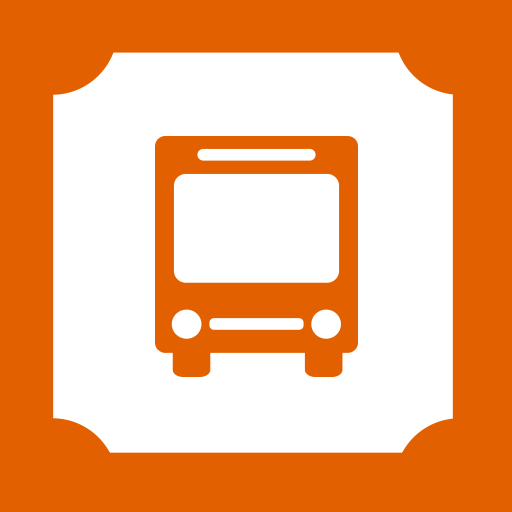 Bus, Ticket Icon