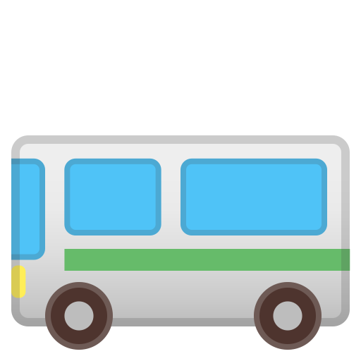 Bus Icon Noto Emoji Travel Places Iconset Google