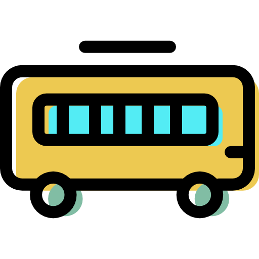 School, Bus Icon Free Of Color Travel And Transport Icons