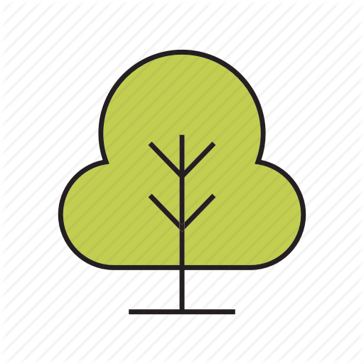 Bush, Forest, Nature, Plant, Tree Icon