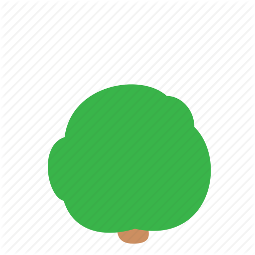 Bush, Tree Icon