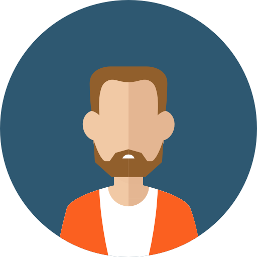Profile, Man, Beard, Business, Avatar, People, User, Facial Hair Icon