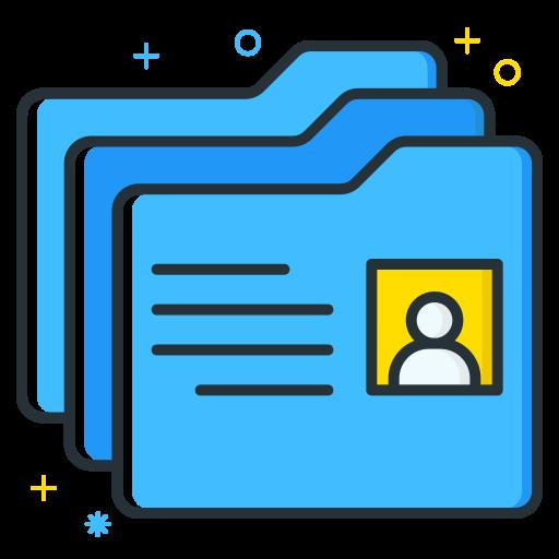Folder, Folders, Archive, Directory Icon Free Of Free Job Seeker