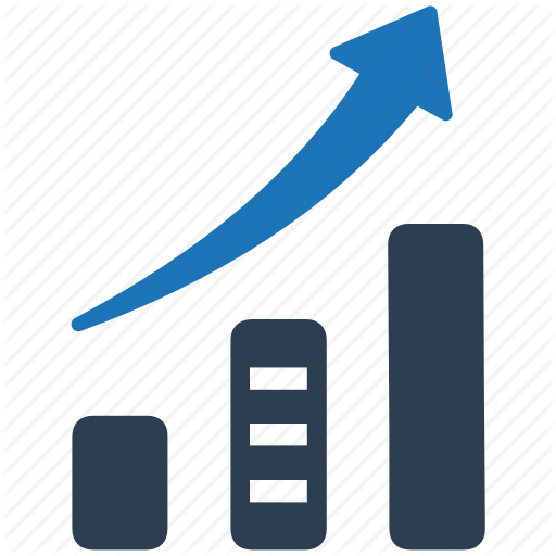 Business Growth, Chart, Graph, Sales Growth Icon