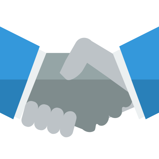 Handshake Icon Free Of Small Flat Icons