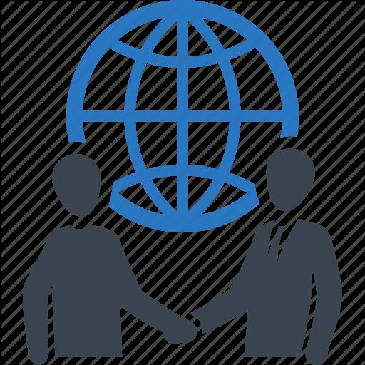 Business Deal, Global Business, Handshake, Partnership Icon