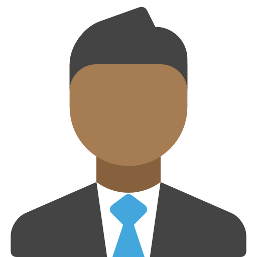 Man, Black, Business, Contact Icon Free Of The Nucleo Flat