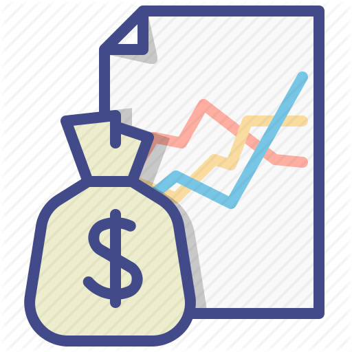 Graph, Money, Revenue, Streams Icon