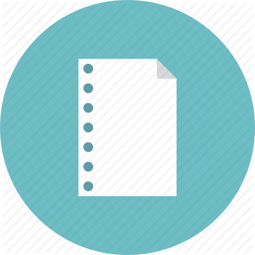 Blank, Business, Empty, List, Note, Page, Paper, Sheet Icon