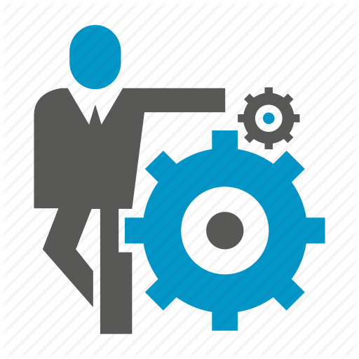 Business People, Cog, Gear, Logic, People Icon