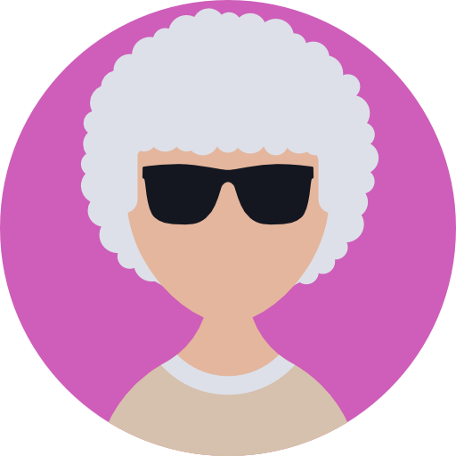 User, Elderly, Business, Profile, Woman, People, Avatar Icon
