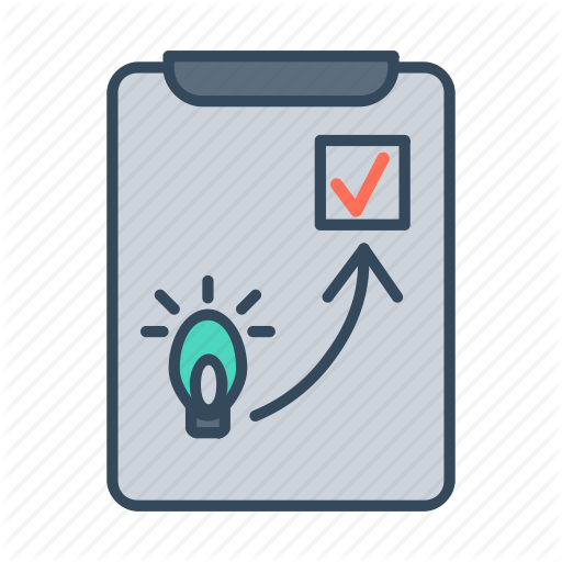 Business Idea, Business Plan, Check, Done, Idea, Plan, Planning Icon