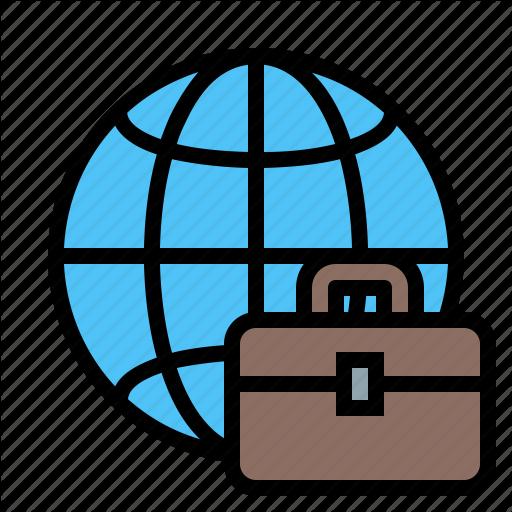 Business, Business Journey, Business Tour, Business Travel Icon