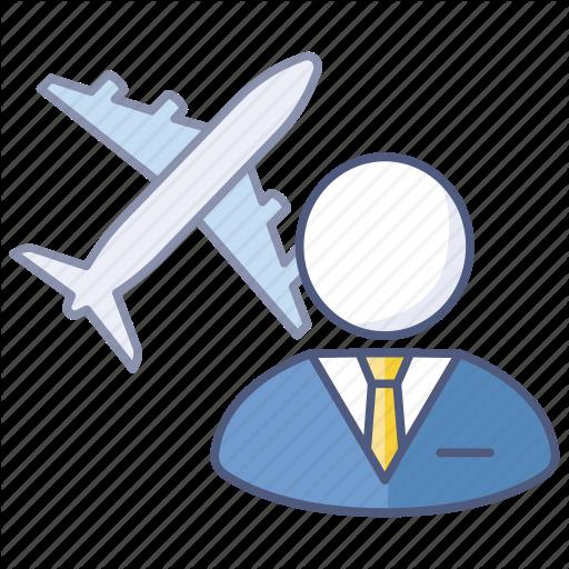 Business Trip, Company, Global, International, Overseas, Travel Icon