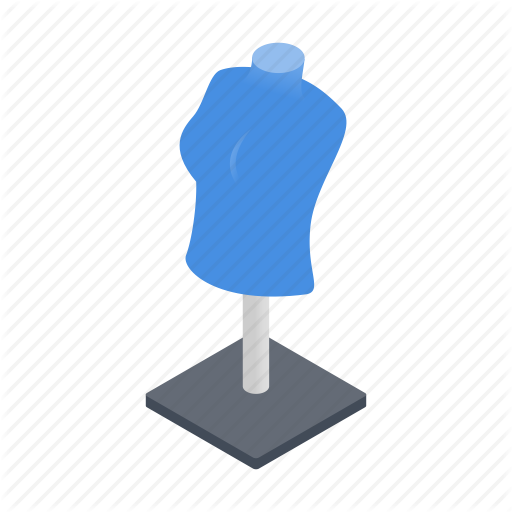 Background, Bust, Design, Dummy, Isometric, Mannequin, Stand Icon