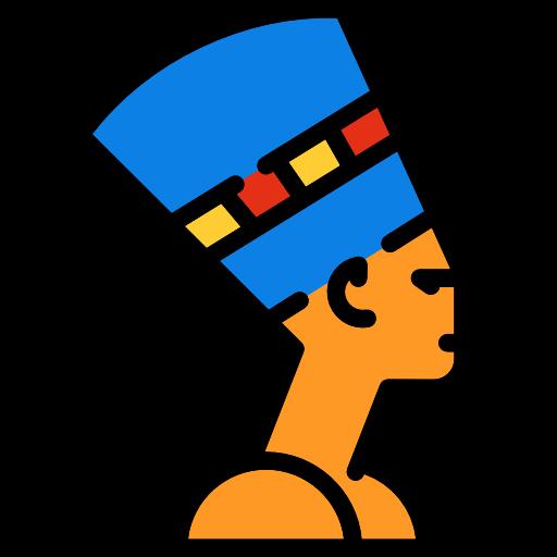 Egyptian, Queen, Nefertiti, Art, Sculpture, Bust Icon
