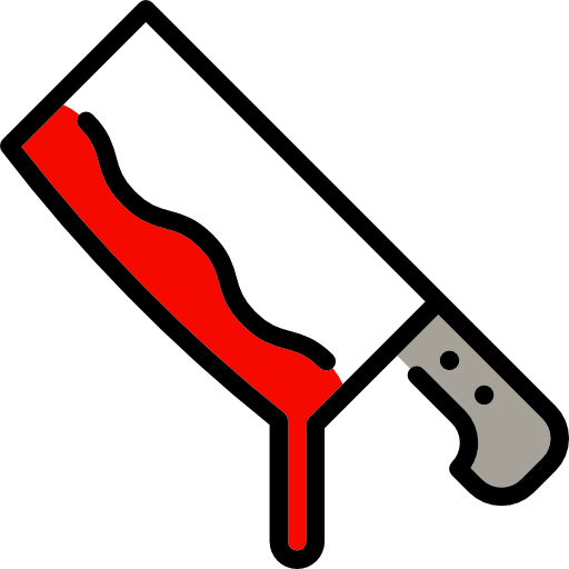 Cleaver, Food, Halloween, Knife, Butcher, Meat, Kitchen Pack Icon