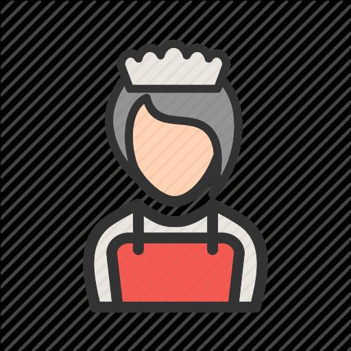 Butler, Girl, Order, Restaurant, Service, Serving, Waiter Icon