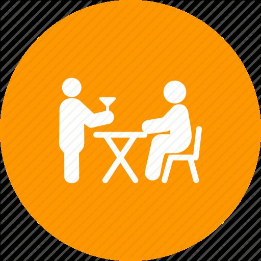 Butler, Order, Restaurant, Service, Serving, Table, Waiter Icon