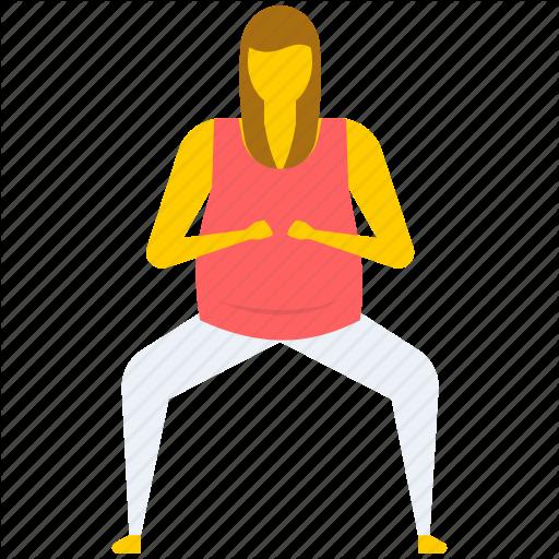 Chair Yoga Pose, Yoga, Yoga Butt, Yoga Exercise, Yoga Pose Icon