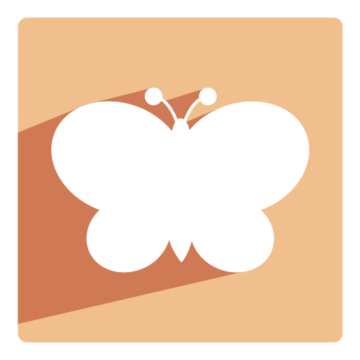 Butterfly Icon Christmas Shadow Iconset Pelfusion